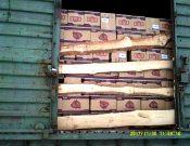 О запрете транзита через территорию Российской Федерации более 59 тонн молочного продукта