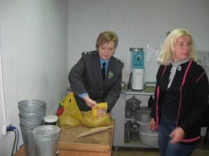 О контроле сохранности зерна государственного интервенционного фонда в Брянской области