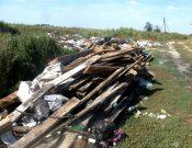 В Брасовском районе выявлена несанкционированная свалка на землях сельскохозяйственного назначения