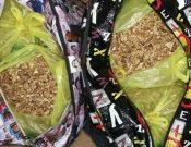 На сопредельную территорию возвращены саженцы, мясо и орехи, перевозимые с нарушениями в ручной пассажирской клади