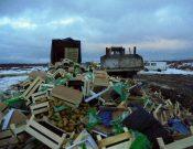 На полигоне ТКО в Смоленской области уничтожено 57 тонн подкарантинной продукции неустановленного происхождения, качества и безопасности