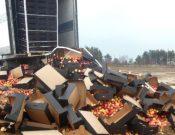 Очередная партия подкарантинной продукции неизвестного происхождения уничтожена на полигоне твердых коммунальных отходов в Брянской области