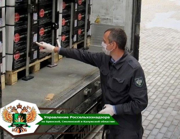 За 8 месяцев 2021 года в Брянской области ветеринарному и фитосанитарному контролю подвергнуто более 800 тыс. тонн продукции, поступившей в Россию