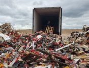 Более 50 тонн подкарантинной продукции неустановленного происхождения, качества и безопасности уничтожено в Смоленской области