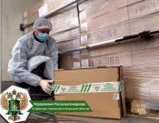 За 9 месяцев 2020 года пограничному ветеринарному контролю в Брянской области подвергнуто более 210 тыс. тонн животноводческих грузов