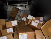 Около полутора тонн мясной и молочной продукции без документов возвращено на территорию Республики Беларусь