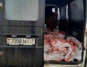 В Смоленской области в очередной раз пресечен нелегальный ввоз с территории Республики Беларусь мясопродукции неизвестного происхождения, качества и безопасности